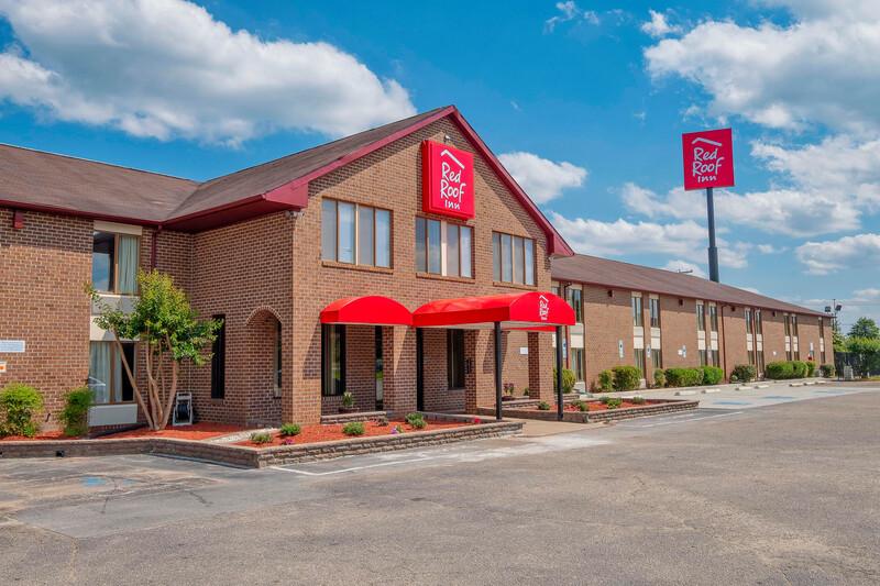 Red Roof Inn Roanoke Rapids Property Exterior Image