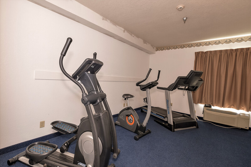 Red Roof Inn Jackson, OH Onsite Fitness Facility