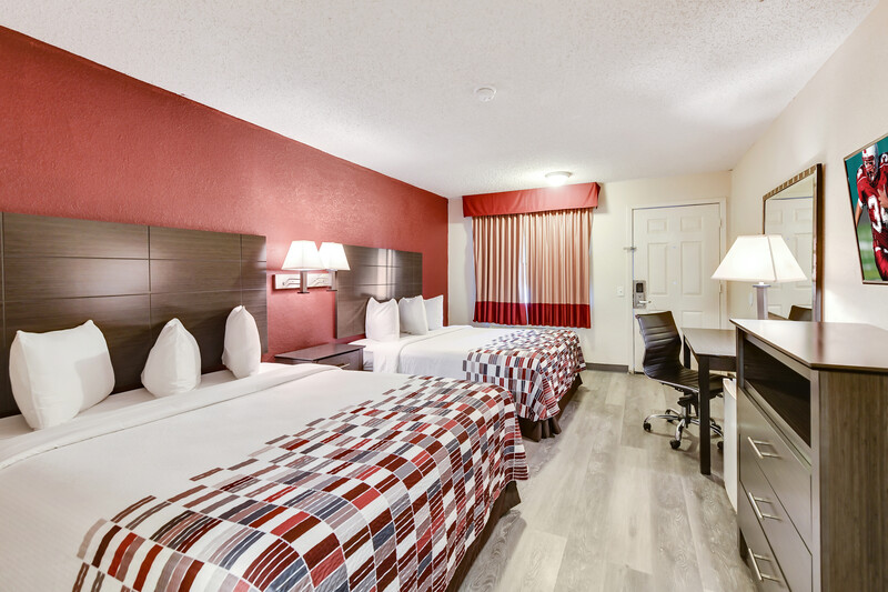 Red Roof Inn Corsicana Double Bed Room Image