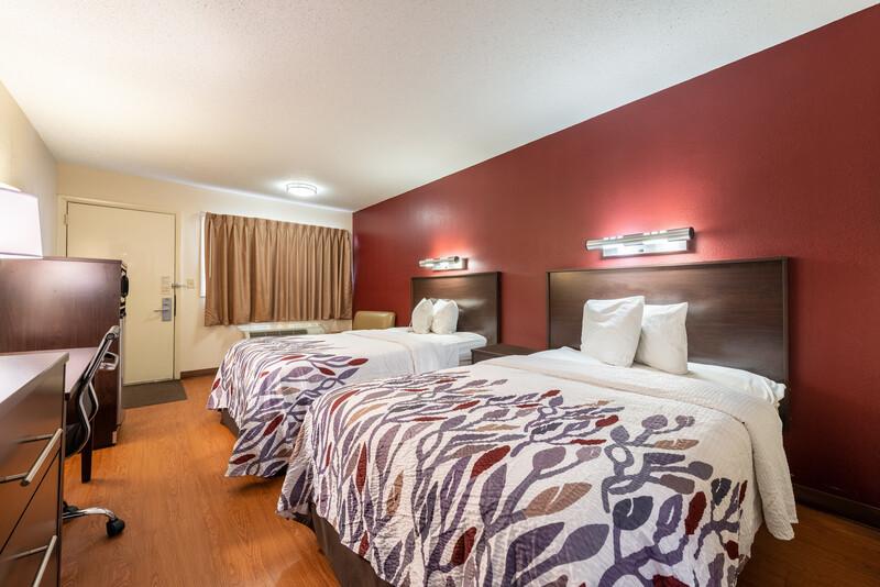 Red Roof Inn Merrillville Deluxe Double Room Image Details