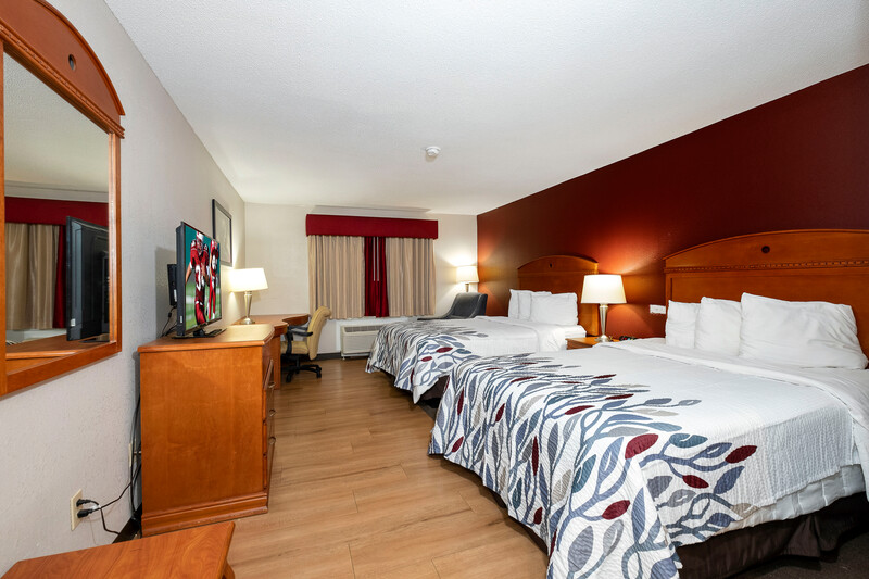 Red Roof Inn Fulton Double Bed Room Image Details