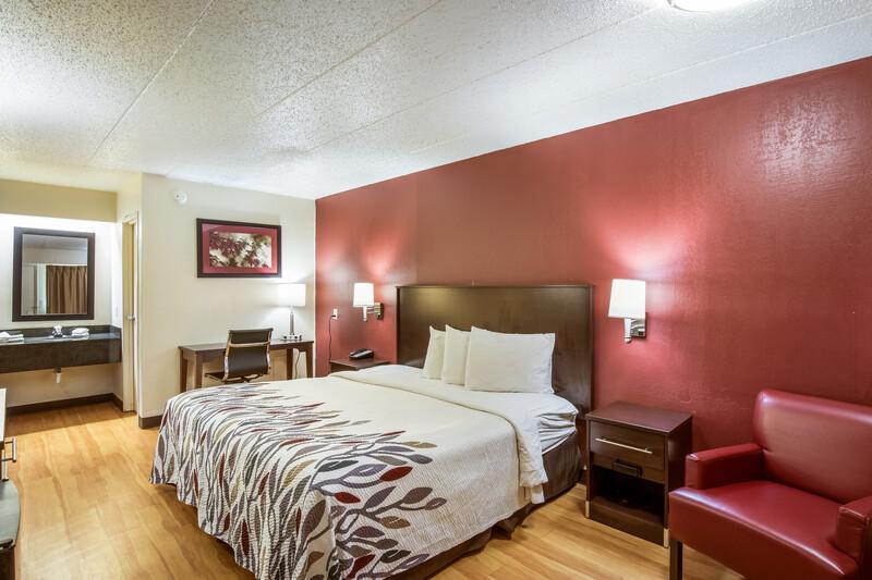 Red Roof Inn Saginaw - Frankenmuth Single King Room
