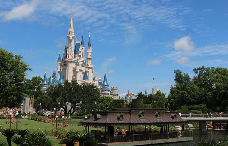 walt disney's castle