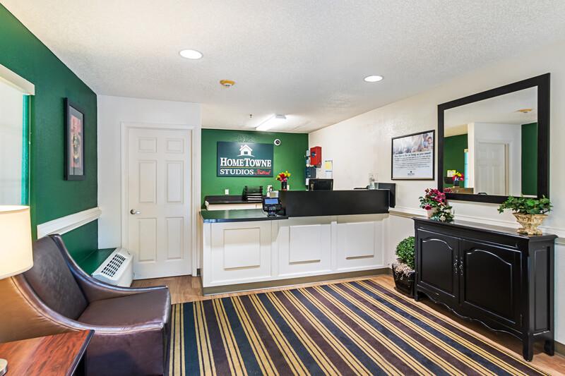 HomeTowne Studios Atlanta - Lawrenceville Front Desk and Lobby