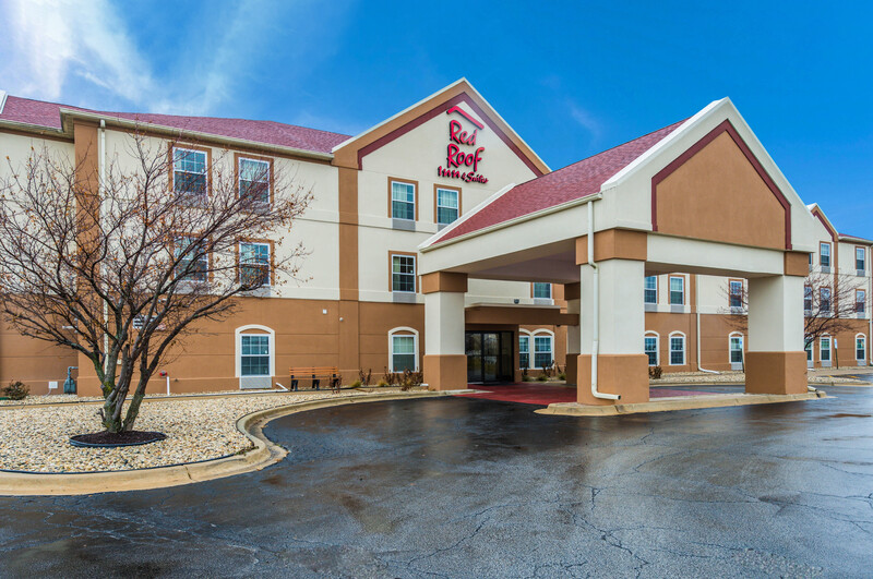 Red Roof Inn & Suites Monee Exterior Property Image