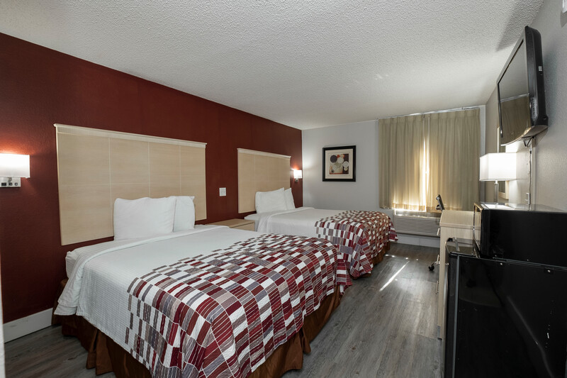 Red Roof Inn Raleigh - Crabtree Valley Deluxe Double Room