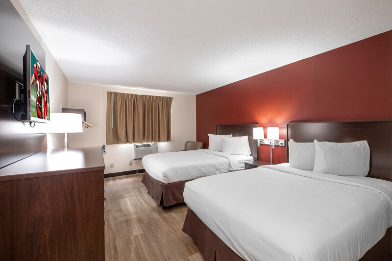 Red Roof Inn Bristol Double Bed Room Image Details