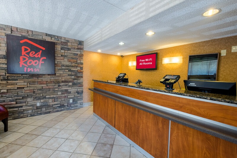 Red Roof Inn Parsippany Front Desk and Lobby Image Details