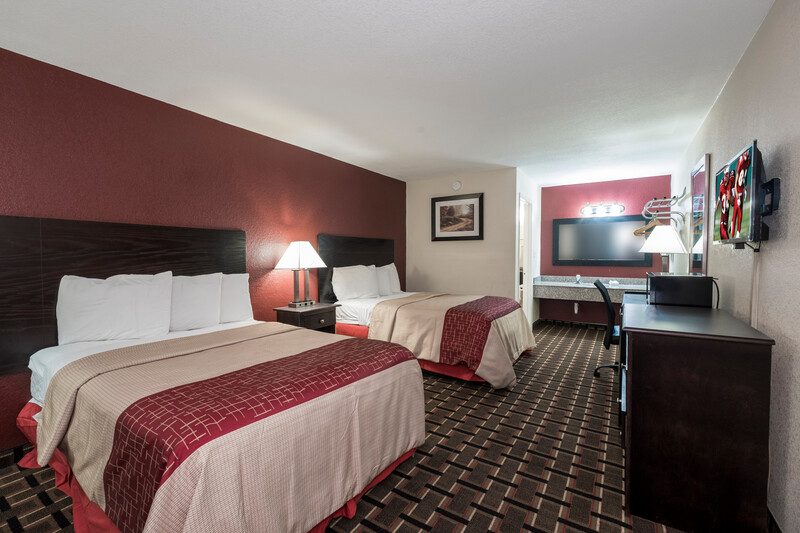 Red Roof Inn Mobile - Midtown Double Bed Room