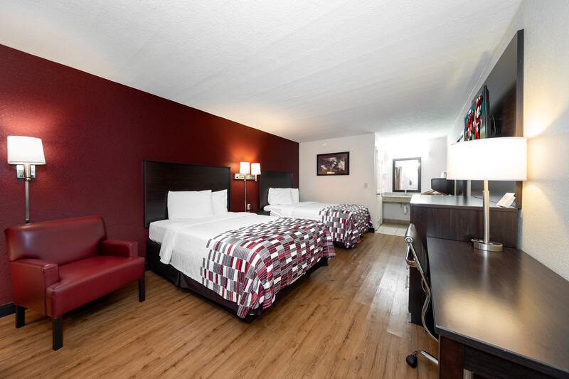 Red Roof Inn Ft Pierce Double Bed Room Image