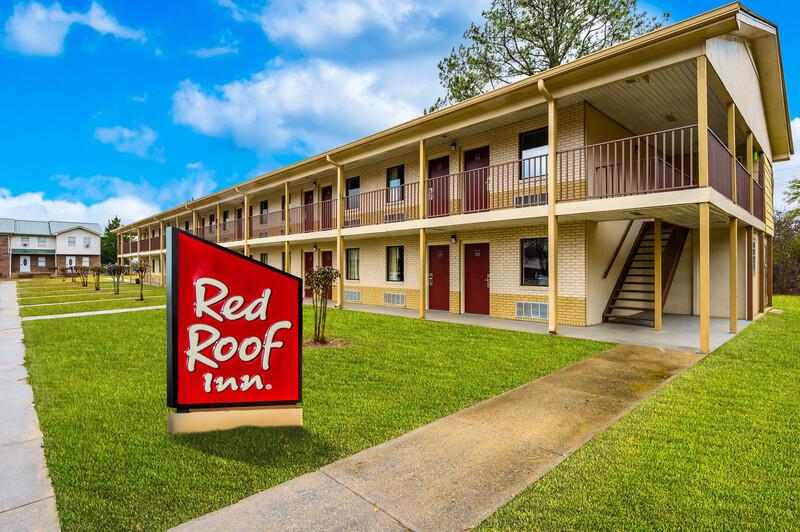 Red Roof Inn Sylacauga Property Exterior Detail Image