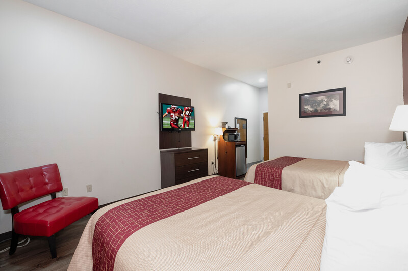 Red Roof Inn & Suites Jackson - Brandon Double Bed Room Image