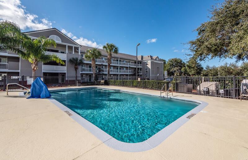 HomeTowne Studios Orlando South Outdoor Swimming Pool
