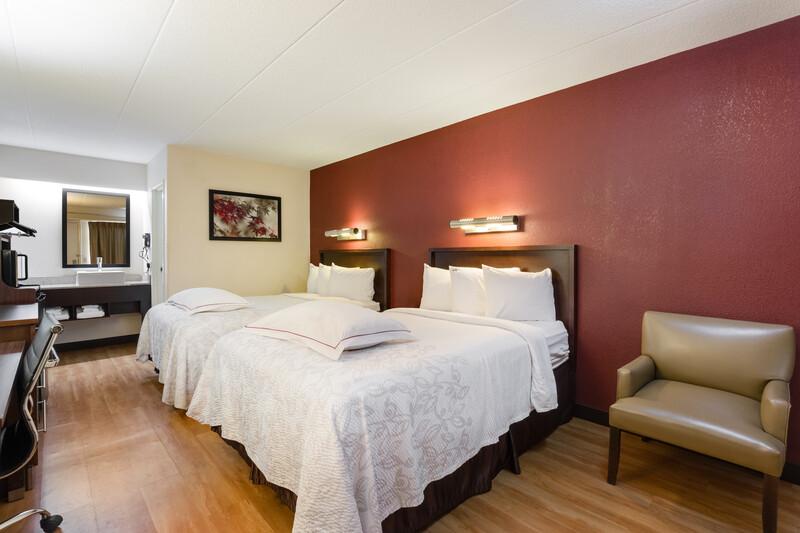 Red Roof Inn Chicago - Northbrook/Deerfield Premium Double Room