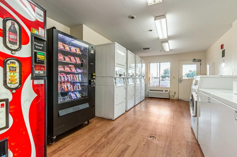HomeTowne Studios Phoenix West Guest Coin Laundry Facility