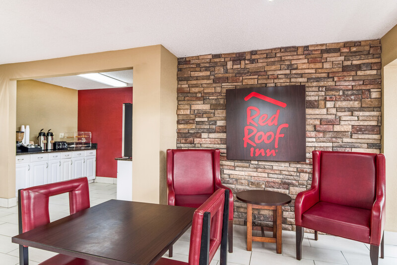 Red Roof Inn Acworth Free Coffee in the Lobby Image