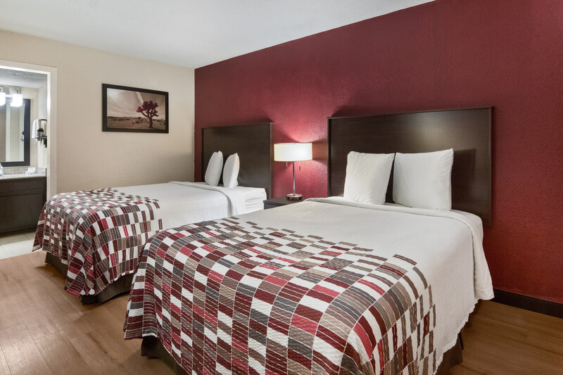 Red Roof Inn Waco Double Bed Room Image Details