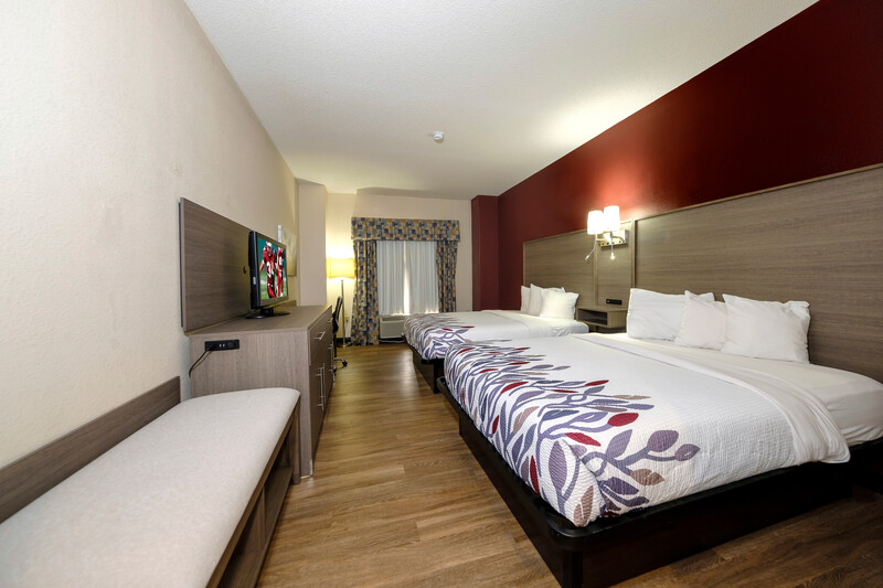 Red Roof Inn Yemassee Double Bed Room Image Details