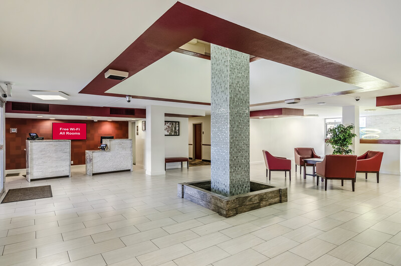 Red Roof PLUS+ Wichita East Lobby Area Image Details