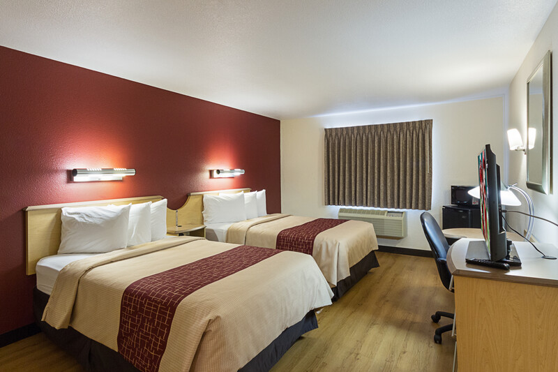 Red Roof Inn New Braunfels Deluxe Double Bed Room