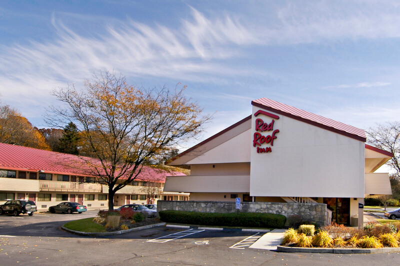 Red Roof Inn Mystic - New London Property Exterior Image
