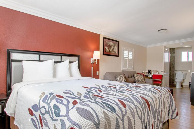 Red Roof Inn & Suites Monterey Single Queen Room