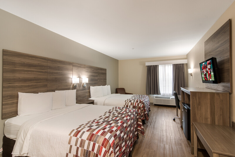 Red Roof Inn Panama City Double Bed Room Image