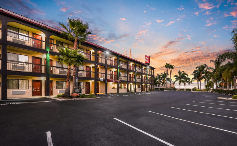 Red Roof Inn Stockton Property Exterior Image