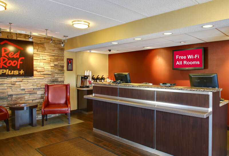 Red Roof PLUS+ Statesville Front Desk and Lobby Image Details