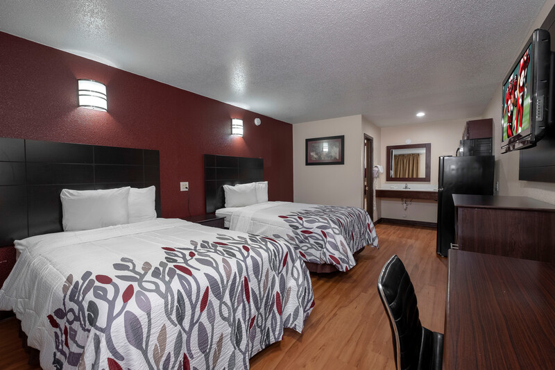 Red Roof Inn Morgan City Double Bed Room Image