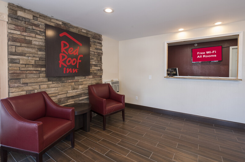 Red Roof Inn Wildwood – Cape May/Rio Grande Lobby Sitting Area