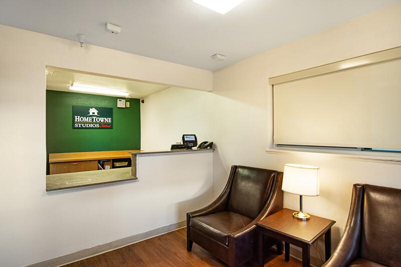 HomeTowne Studios Colorado Springs - Airport Front Desk and Lobby
