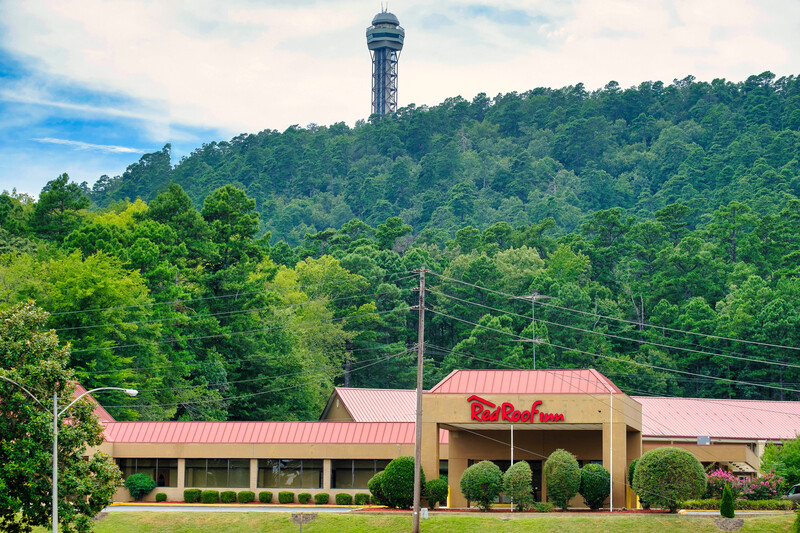 Red Roof Inn Hot Springs Property Exterior Image