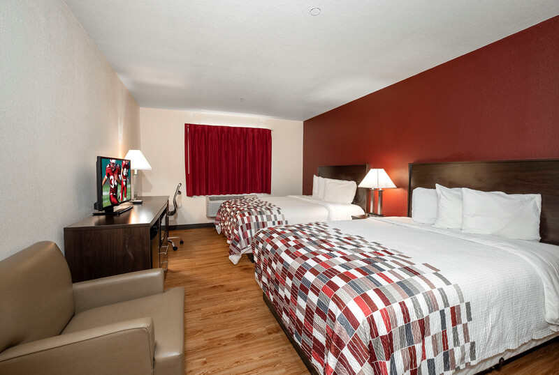 Red Roof Inn Hartselle Double Bed Room Image Details