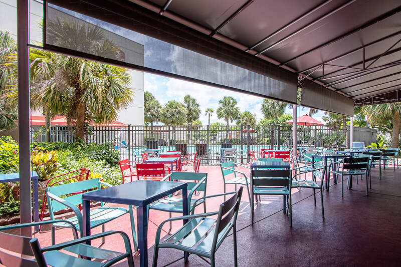 Red Roof PLUS+ Miami Airport Outdoor Sitting Area Image