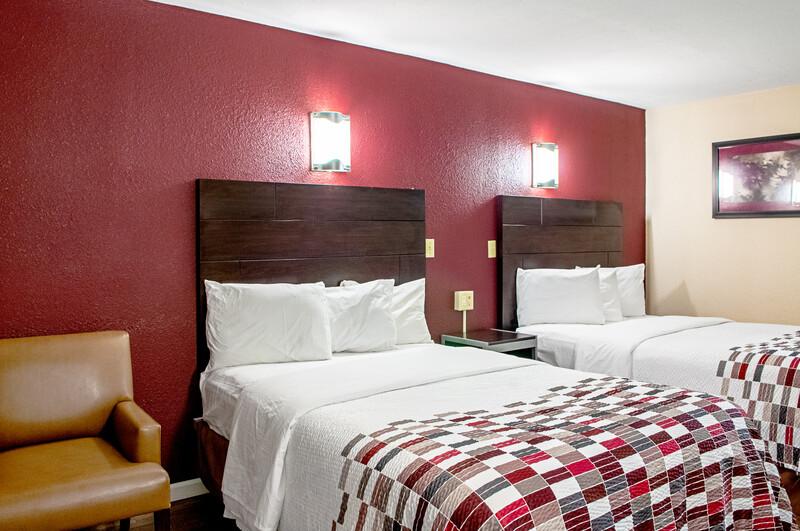 Red Roof Inn Slidell Double Bed Room Image