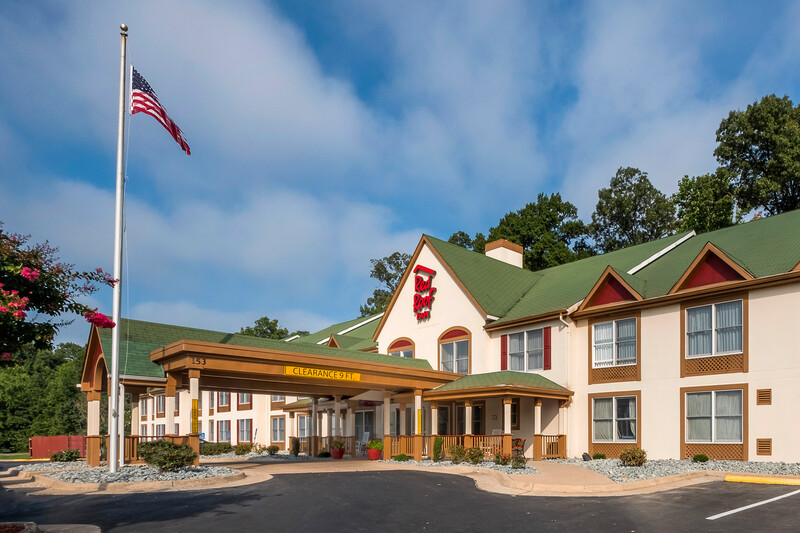 Red Roof Inn & Suites Stafford Exterior Property Image