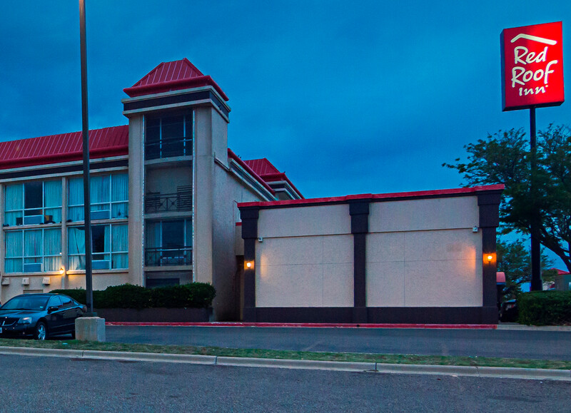 exterior of Red Roof Inn & Conference Center Lubbock