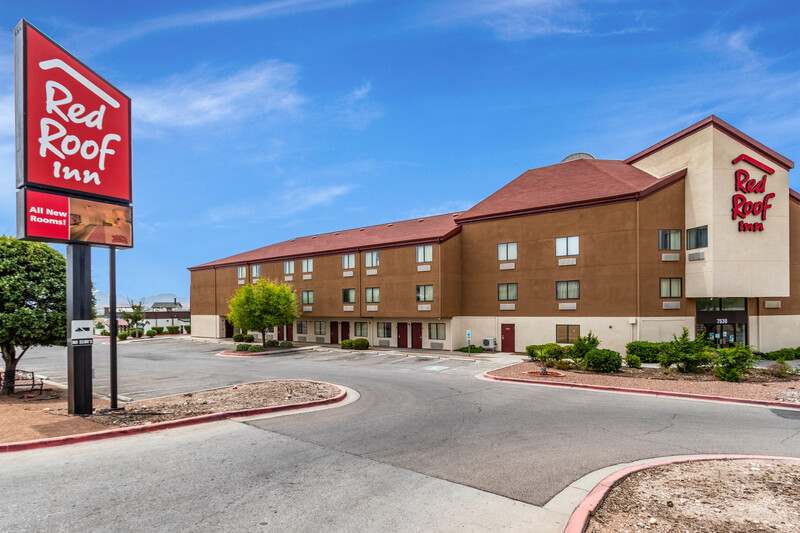 Red Roof Inn El Paso West Exterior Property Image
