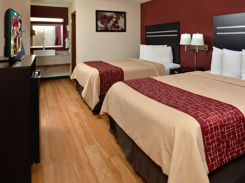 Red Roof Inn Cartersville Double Queen Room