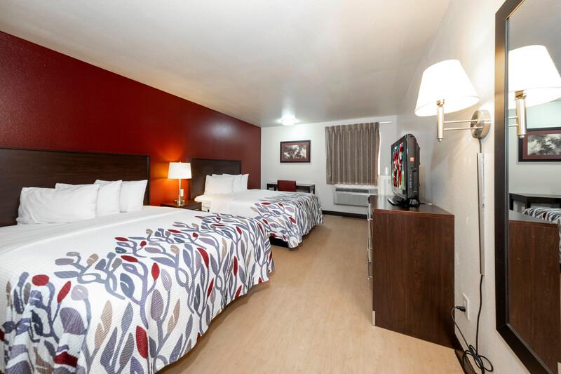 Red Roof Inn St Robert - Ft Leonard Wood Double Bed Room