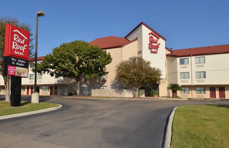 Red Roof Inn San Antonio - Airport Property Exterior Image