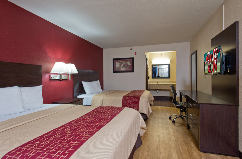 Red Roof Inn Corpus Christi South Double Bed Room Image