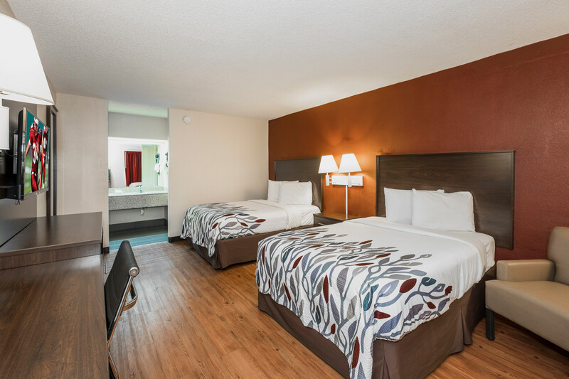 Red Roof Inn Walterboro Double Bed Room Image Details