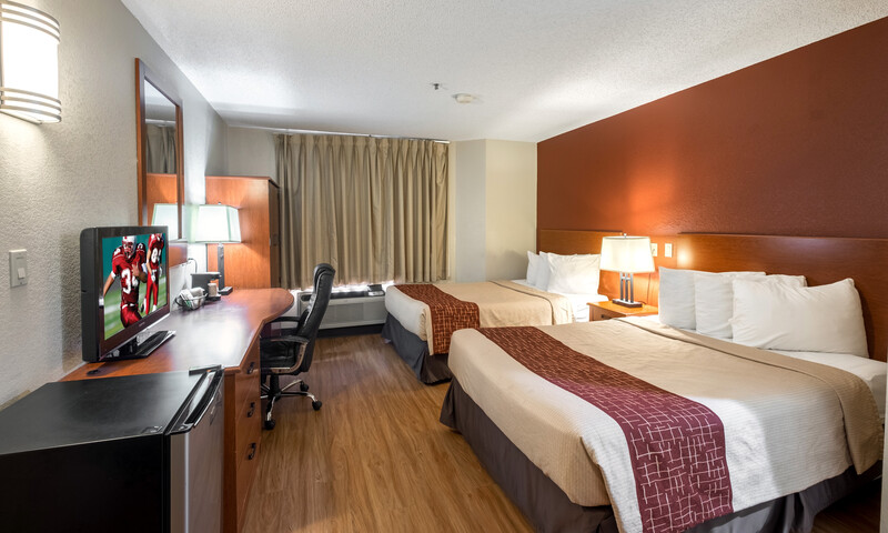 Red Roof Inn Houston - IAH Airport/JFK BLVD Double Bed Room Image
