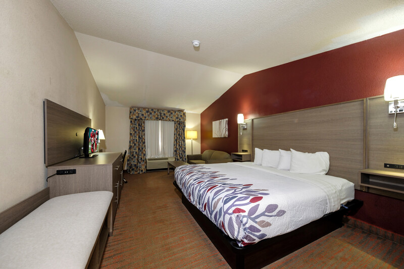 Red Roof Inn Yemassee Superior King Room Image Details