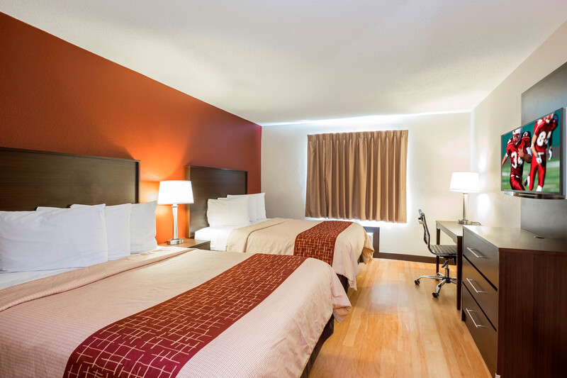 Red Roof Inn Columbus - Ohio State Fairgrounds Double Bed Room