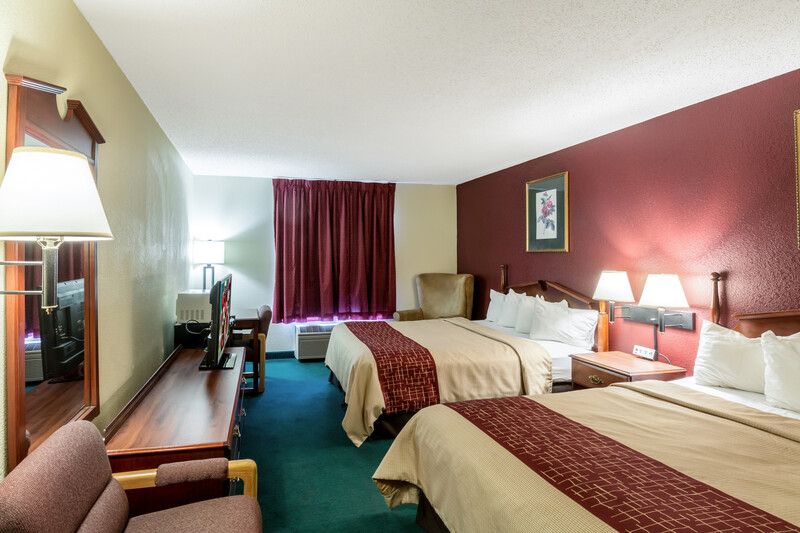 Red Roof Inn Morehead Double Bed Room Image Details