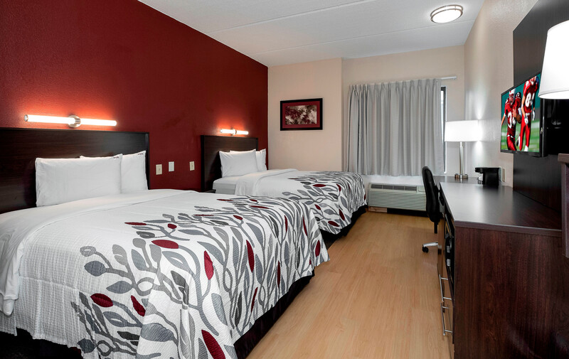 Red Roof Inn Raleigh Southwest - Cary Deluxe Double Bed Room