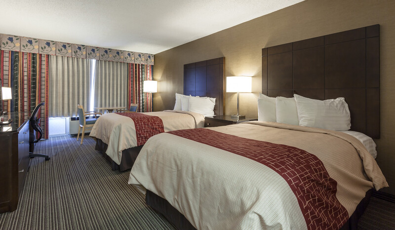 Red Roof Inn & Suites DeKalb Double Bed Room Image